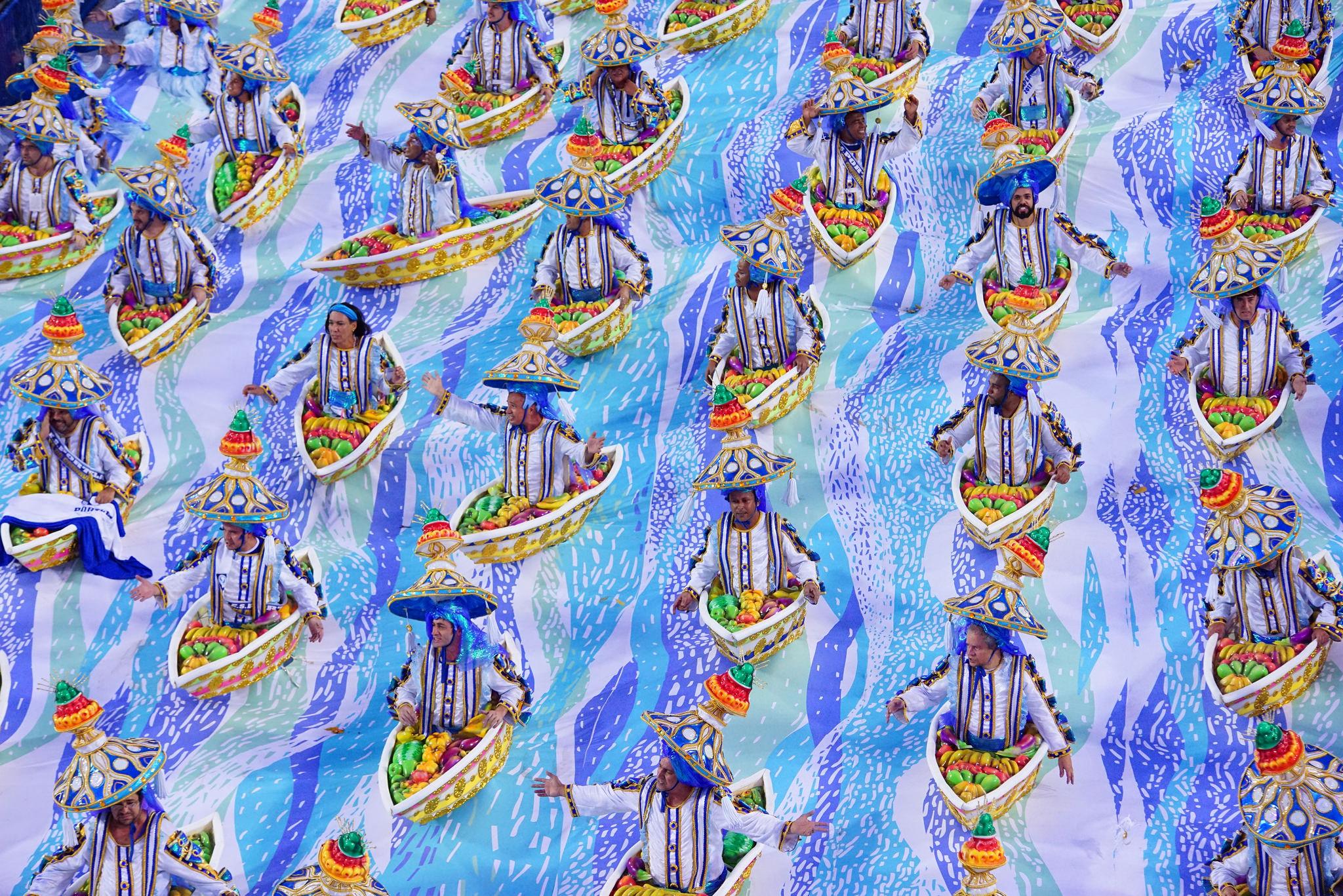 Desfile da Portela em 2017 - Fernando Grilli/Riotur