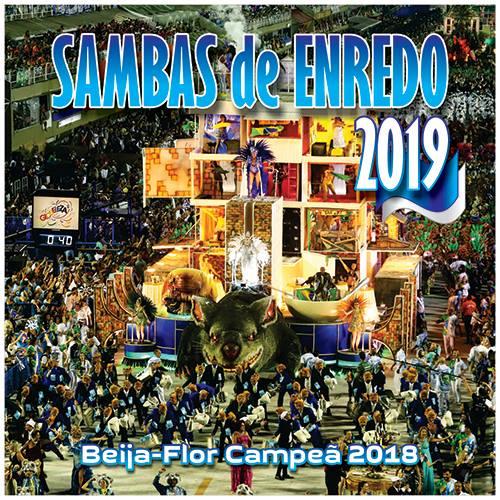 Liesa divulga capa do CD com sambas de 2019 1