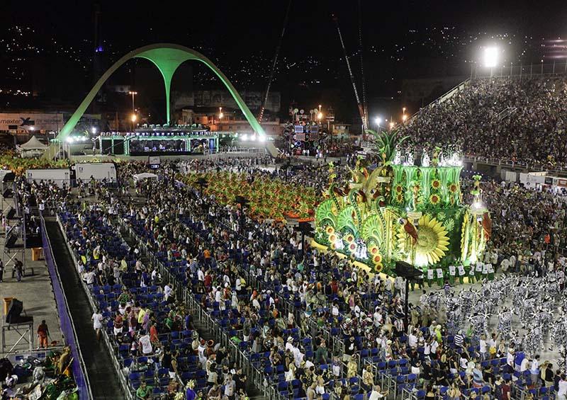 Grande Rio em 2018, Carnaval