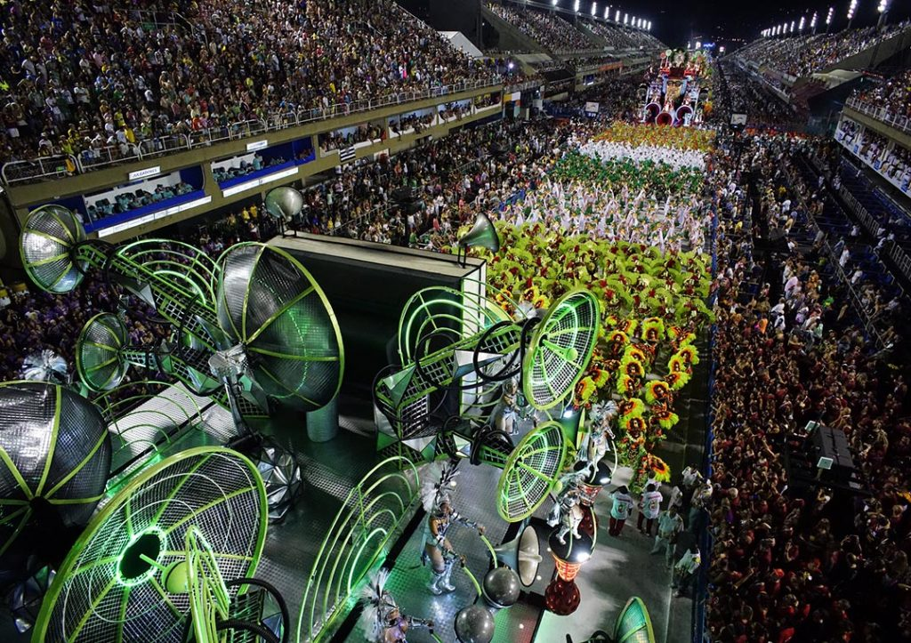 Desfile da Grande Rio de 2018